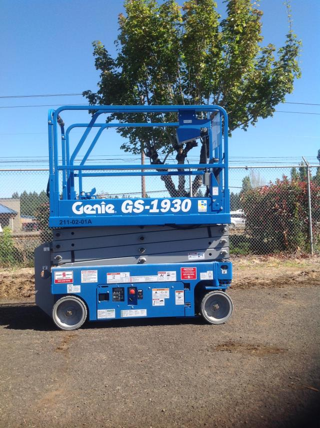 Where to find Scissor Lift Electric 19 -30 in Portland