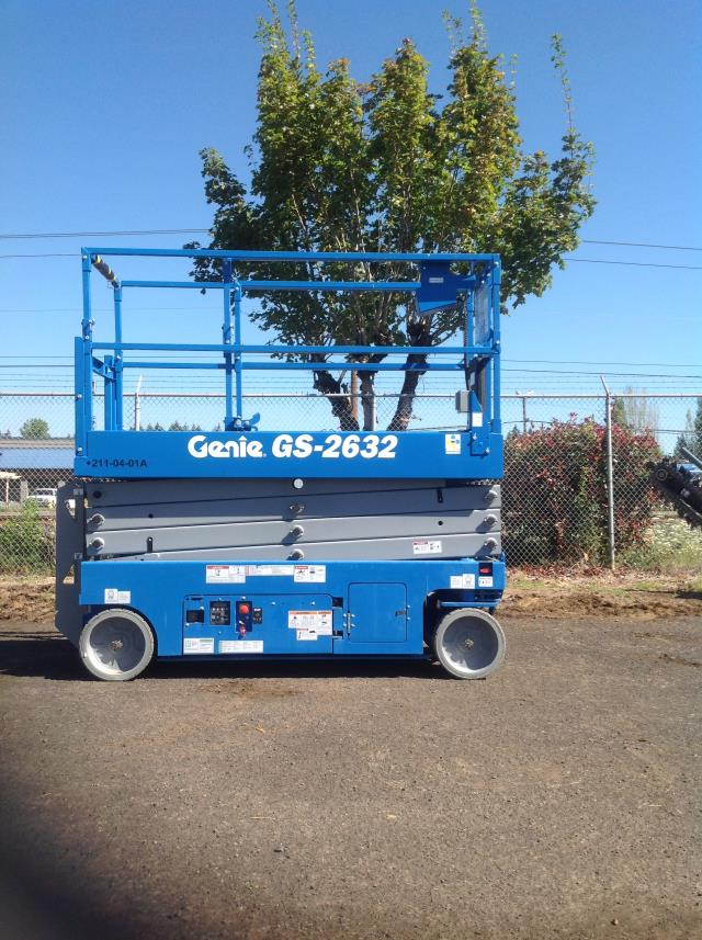 Where to find Scissor Lift Electric 26 -32 in Portland