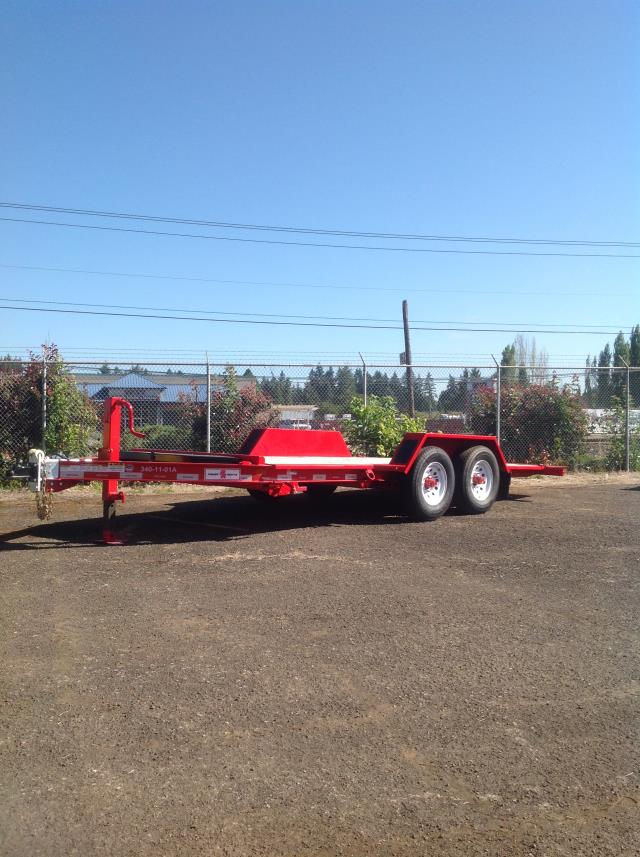 Where to find Trailer 2 Axle Tilt 18  10M Surge Brake in Portland