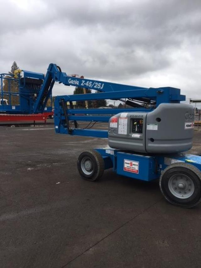 Where to find Manlift 45  Articulated Electric in Portland