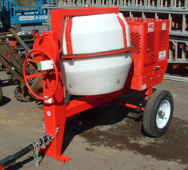 Where to find Mixer Cement 9 Cu ft Tow in Portland