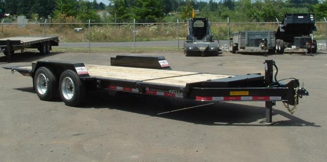 Where to find Trailer 21  2 Axle Tilt Bed 16,000 in Portland