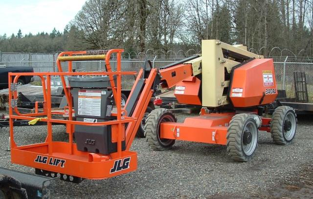 Where to find Manlift 34  4X4 Articulated in Portland