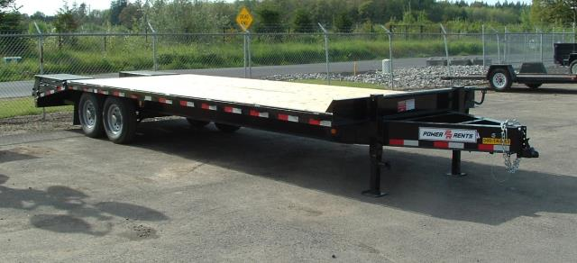 Where to find Trailer 2 Axle 14K 20  4  Deck Over Ramp in Portland